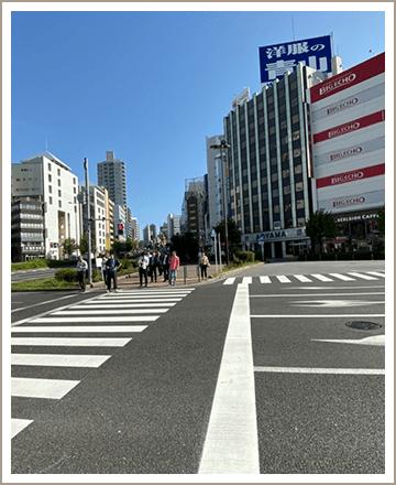 五反田校までの道順2